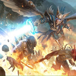 Skywrath Mage  Artifact Art