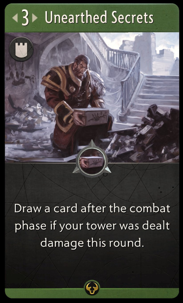 Unearthed Secrets Card